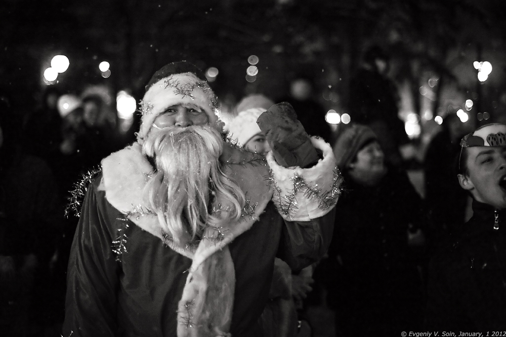 Дед Мороз в Калуге