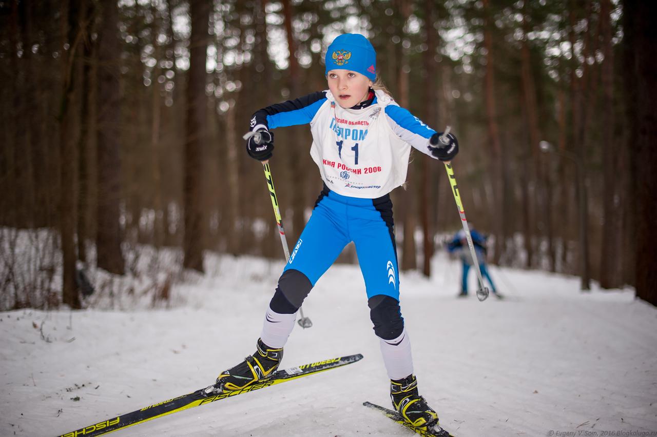 Первенство Калужской области по лыжным гонкам 2016 2