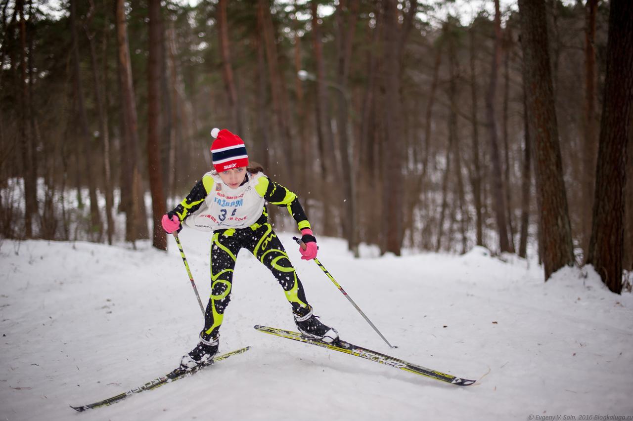 Первенство Калужской области по лыжным гонкам 2016 3